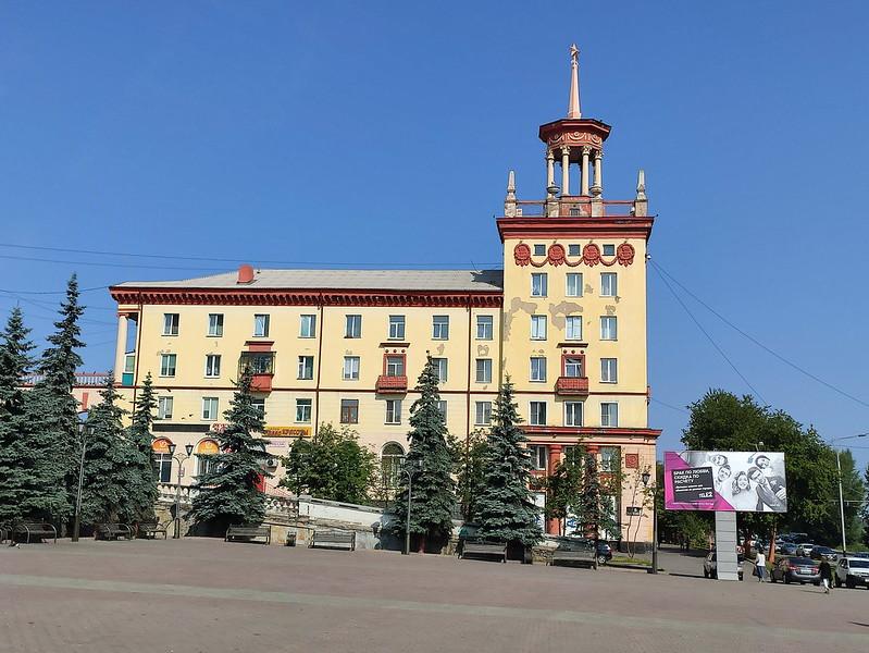 Прокопьевск - Дом на проспекте Шахтеров 37