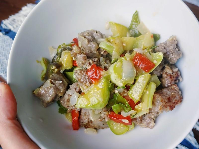 Italian Sausage + Garden Veggie Stir Fry