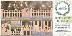 Pretty Kitty Fence Set