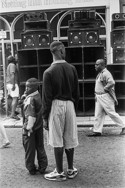 Notting Hill Carnival, 1990. Peter Marshall 90-822-64_2400