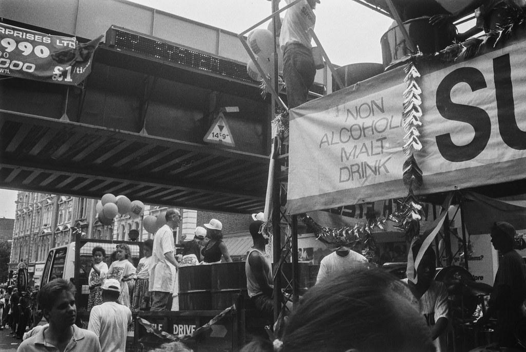 Notting Hill Carnival, 1990. Peter Marshall 90-828-52_2400