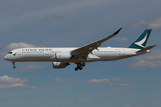 Cathay Pacific Airways Airbus A350-941 F-WZFD 200824 TLS