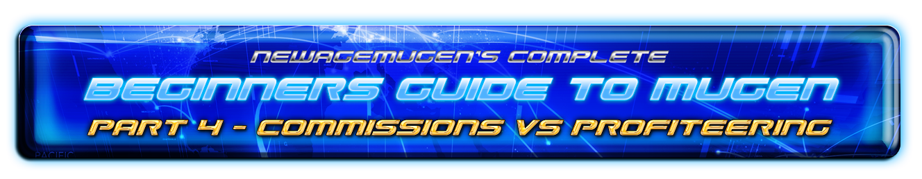Complete Beginners Guide to Mugen - Part 4c - Commissions Vs Profiteering 50271208882_8220f58317_o