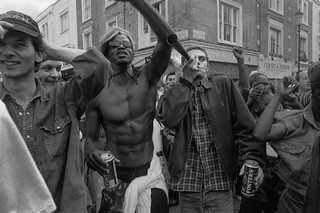 Notting Hill Carnival, 1994. Peter Marshall 94-8bh-36-16_2400