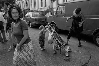 Notting Hill Carnival, 1994. Peter Marshall 94-8bf-52-16_2400