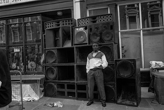 Notting Hill Carnival, 1994. Peter Marshall 94-8bc-51-16_2400