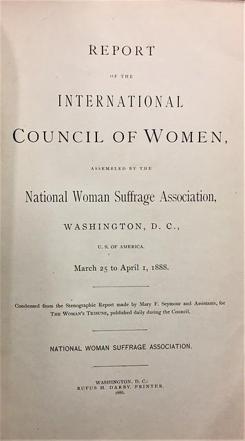international council on women