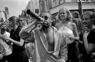 Notting Hill Carnival, 1999. Peter Marshall 99-807-15_2400