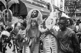 Notting Hill Carnival, 1990. Peter Marshall 90-824-13_2400