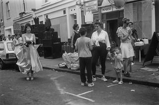 Notting Hill Carnival, 1990. Peter Marshall 90-818-46_2400
