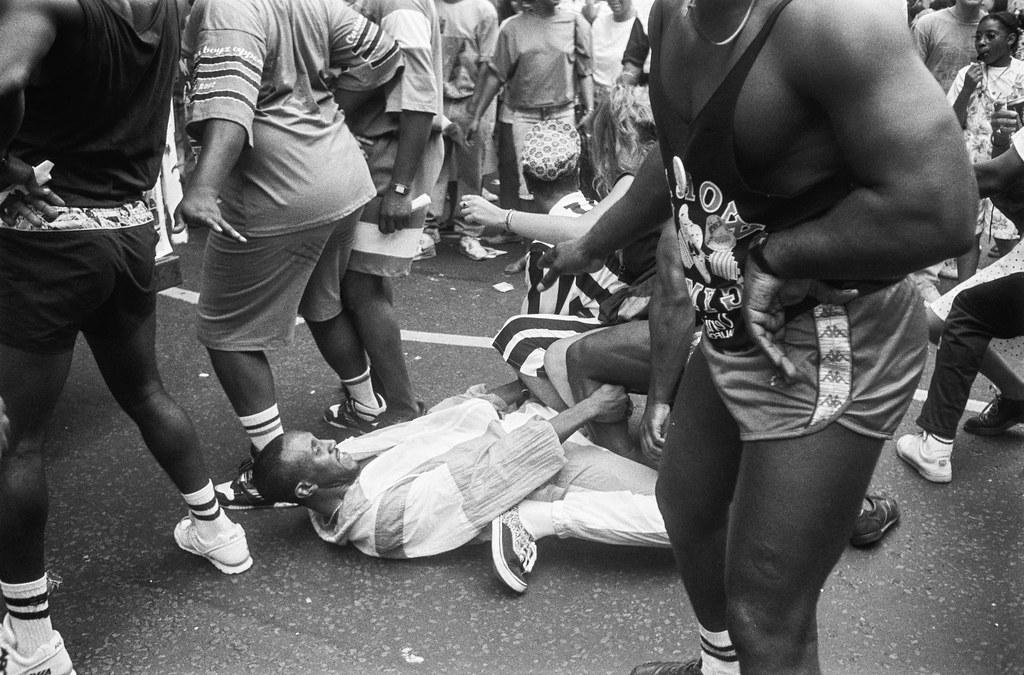 Notting Hill Carnival, 1990. Peter Marshall 90-828-46_2400