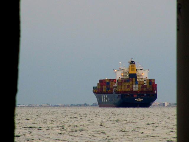 The Christmas ship...
