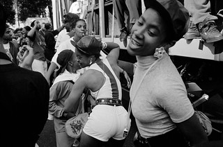 Notting Hill Carnival, 1992. Peter Marshall 92-8aa-12_2400