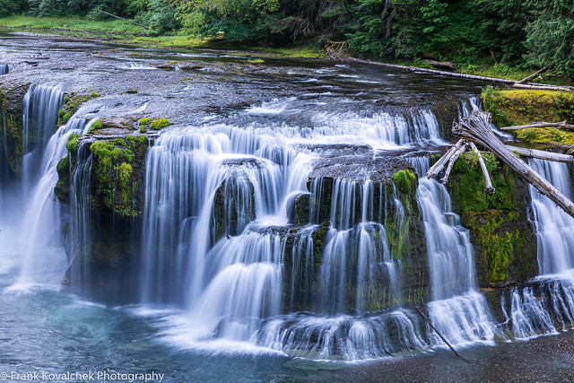 Lower Falls of the Lewis River, WA State