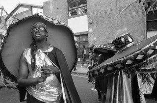 Notting Hill Carnival, 1993. Peter Marshall 93-8bp-62_2400