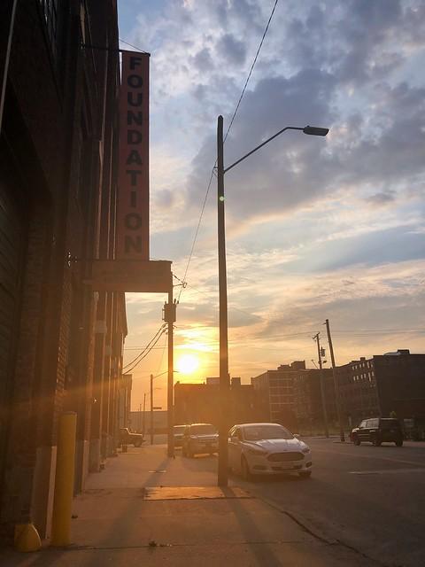 West Bottoms Sunset