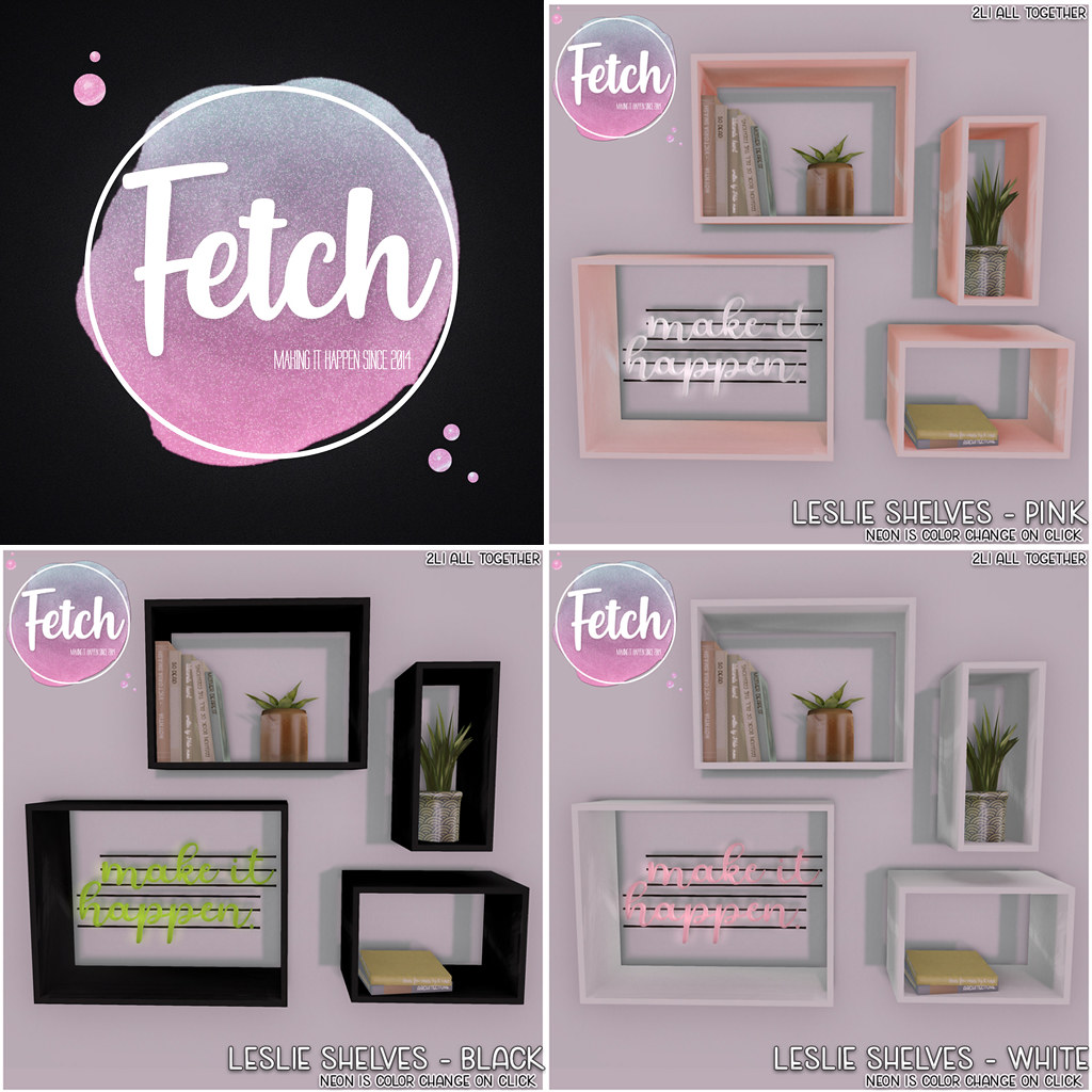 [Fetch] Leslie Shelves @ Cosmo!