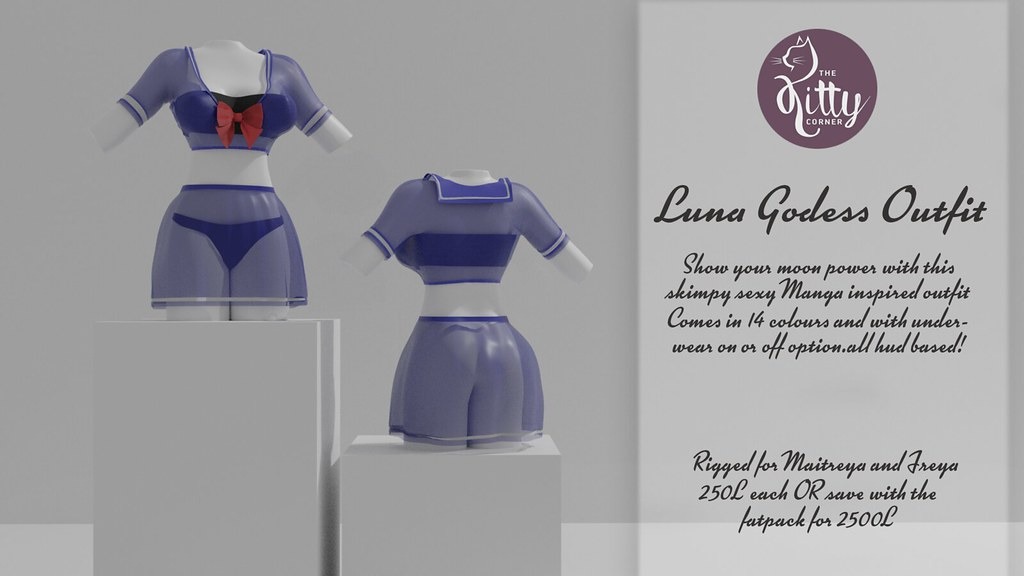 Luna Goddess outfit coming to Sanarea