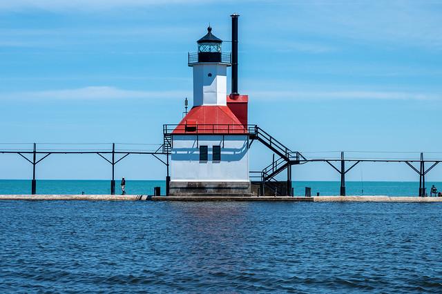 St. Joseph North Pier Outer Lighthouse