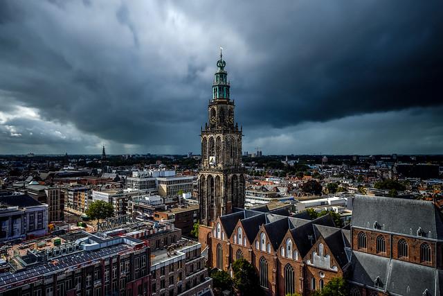 Martinitoren Forum Groningen