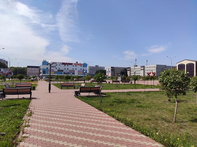 Прокопьевск - Парк Покорители земных недр