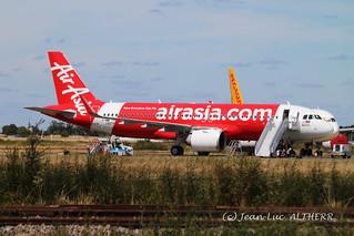 Airbus A320-251Neo Air Asia F-WWIQ. CHR, August 24. 2020