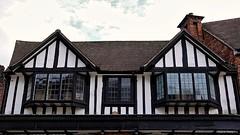 Tudor Period Building. Stratford-upon-Avon. Aug 2020