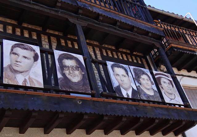 Familias de Mogarraz, Salamanca, España.