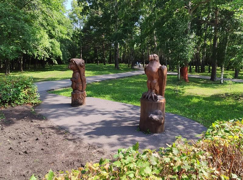 Прокопьевск - Деревянные скульптуры