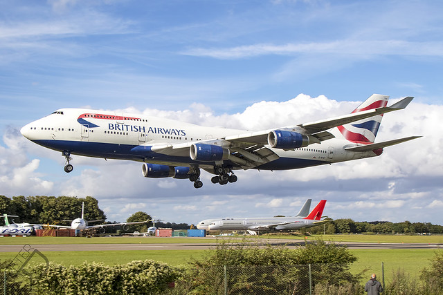 G-BYGF / British Airways / Boeing 747-436