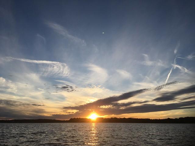 Wörthsee Sunset, letzter für die Saison