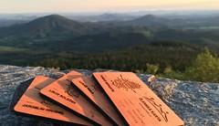 Prominentní vrcholy Lužických hor – žádný občerstvovačky, žádný značení, jen ty a tvá vůle