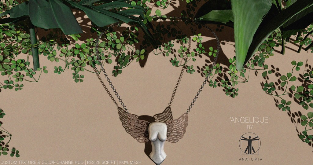 "A N A T O M I A - ""Angelique"" Necklace"
