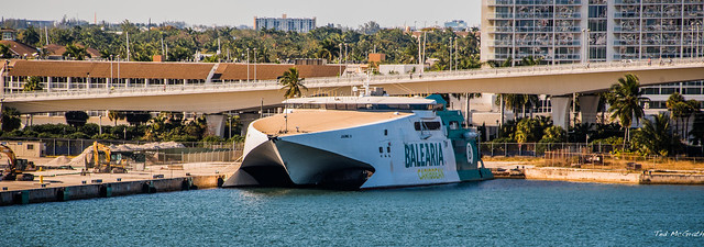 2020 - COVID-19 HAL Cruise - Ft. Lauderdale - Fast Ferry Jaume II