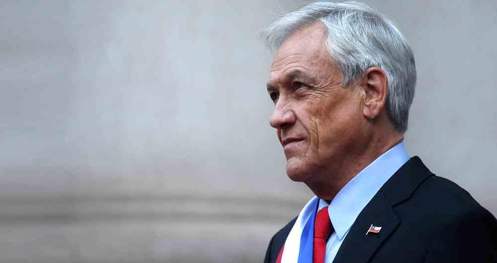 Presidente Piñera rompió protocolo de funaral Covid