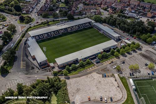 Burton Albion, Pirelli Stadium, Aerial Photography