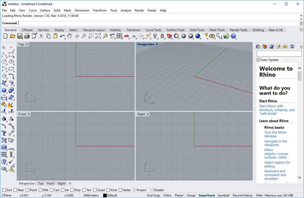 Working with Rhinoceros 6.29.20238.11501 x64 full