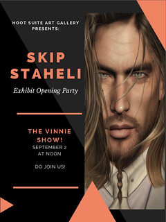 Opening Party _ SKp Staheli & Live The Vinnie Show September 2nd at. Noon!