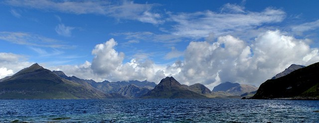 Black Cuillin, Elgol, Isle of Skye, Highland, Scotland, UK