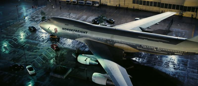 Norskfreight plane