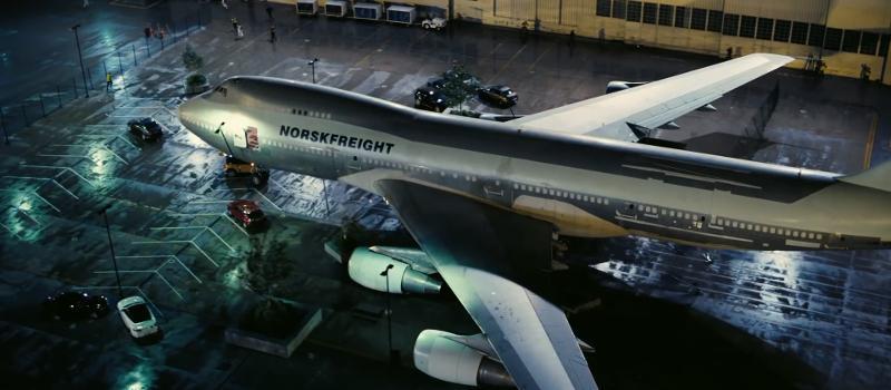 Avión Norskfreight