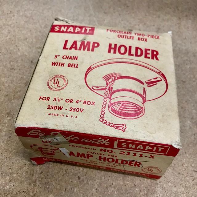 Snapit Lamp Holder