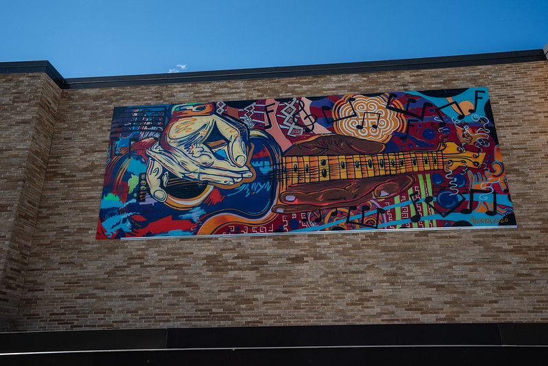 Multicultural Mural Albee, Aug. 18, 2020