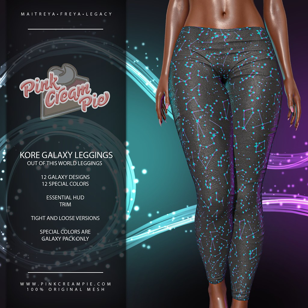 Kore Galaxy Leggings @ Fly Buy Fridays 8/28!