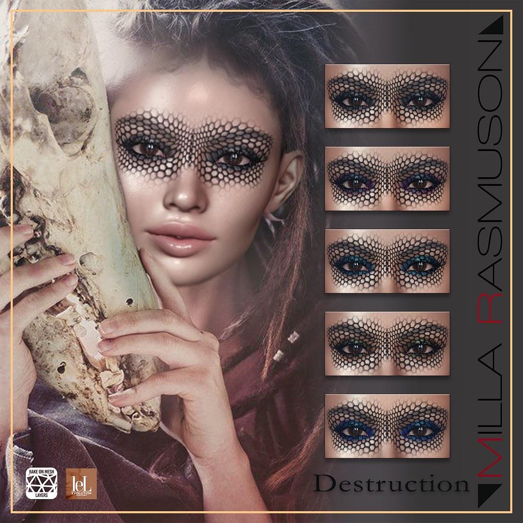 Destruction Makeup