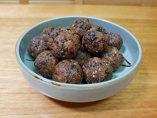 Blueberry Muffin Energy Bites