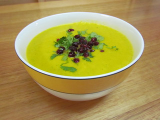 Carrot and Coriander Bisque