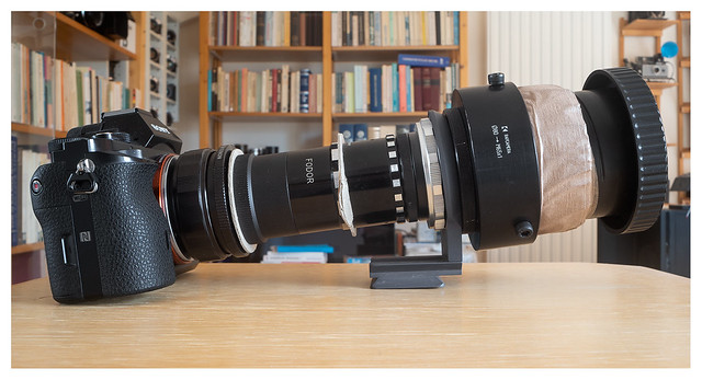 Mounting Ennagon 230/3.5 for infinity
