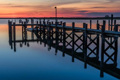 brigantine newjersey jerseyshore dock longexposure sunrise