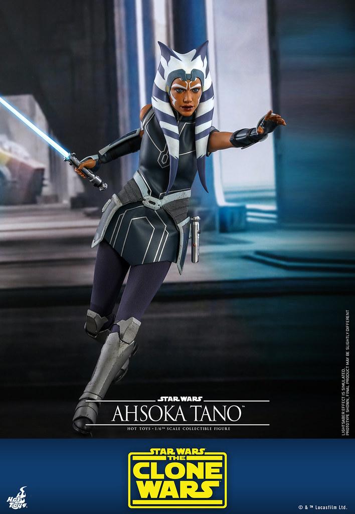 Hot Toys《星際大戰:複製人之戰》亞蘇卡·譚諾 1/6 比例人偶